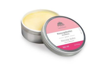 Massagebutter Kirschblüte reichhaltiger Kakao- und Sheabutter
