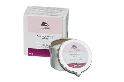 Massagekerze Wildrose