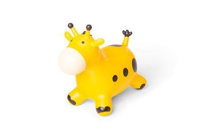 PINOFIT® aufblasbares Hüpftier Giraffe für Kinder