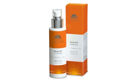 Körperöl Orange Spirit von Natural Spa Therapy