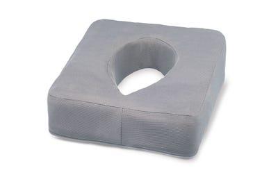 Ersatzbezug für Nasenschlitzkissen mit Gel-Einsatz grey