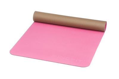 PINOFIT® Yogamat fuchsia/brown