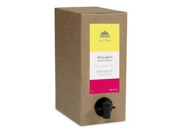 Massageolie Lemon Hibiscus 3 liter