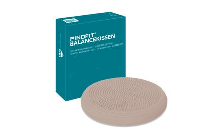 PINOFIT® Balancekussen warm grey